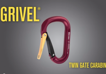 "GRIVEL NEW ""TWIN GATE CARABINER"""